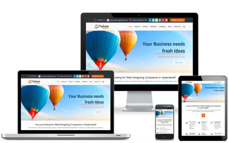 Website Designers in Hyderabad